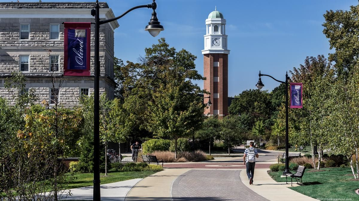 olivet nazarene university clock tower